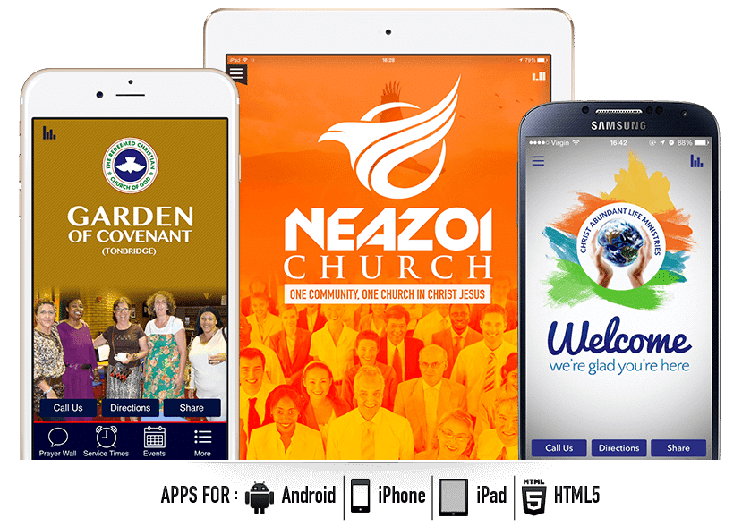 Church Websites UK, Church Website UK Church Marketing UK, Church Mobile Apps, Church Mobile Application